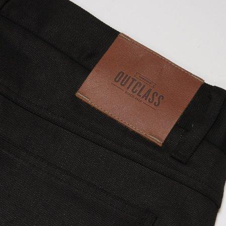 Outclass Black Waxed Jean