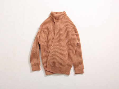 Unisex Reality Studio Iris Knit Jacket - Camel