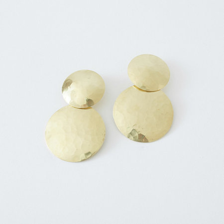 Crescioni Double Terra Earrings