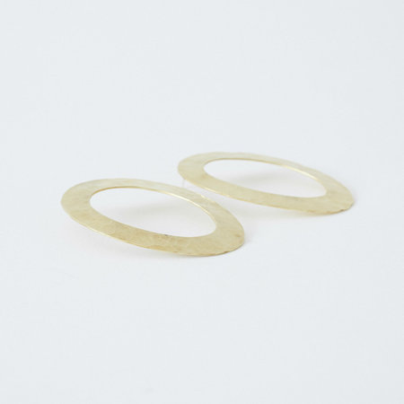 Crescioni Paz Earrings - Metallic yxrgn