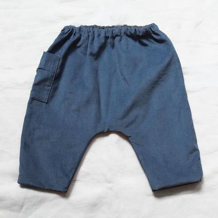 Kids Makié Lump Corduroy Pant - blue