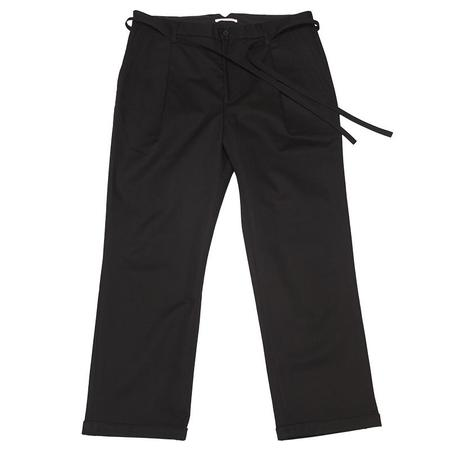 s.k. manor hill Lansky Pant - Black Cotton (Water Resistant)