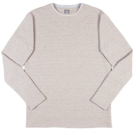 Wilson & Willy's Standard Issue Long Sleeve Crew - Nubuck