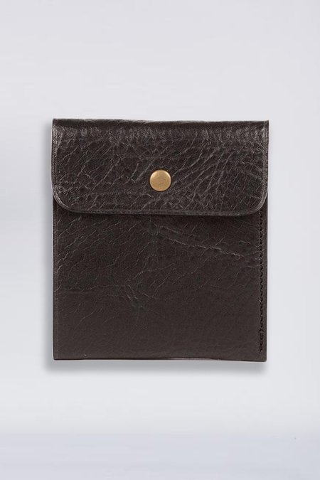 Steve Mono Leather Pocket Wallet