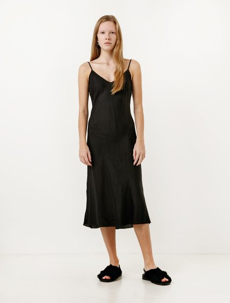 Organic by John Patrick Bias Long Slip - Black
