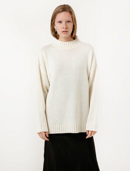 Organic by John Patrick Big Sweater - Off-White