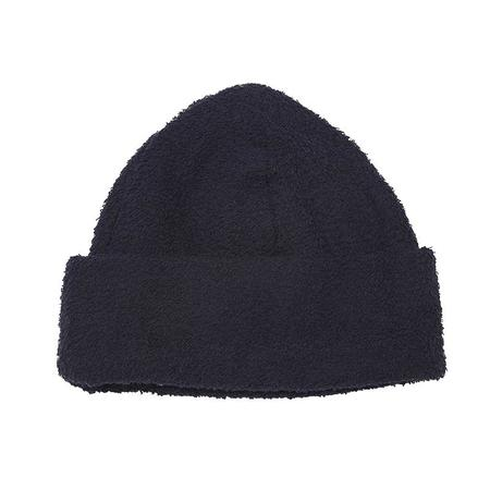 s.k. manor hill Beanie - Navy Cotton Pile