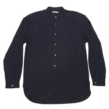 s.k. manor hill Kalamazoo Shirt - Navy TencelCotton/Wool