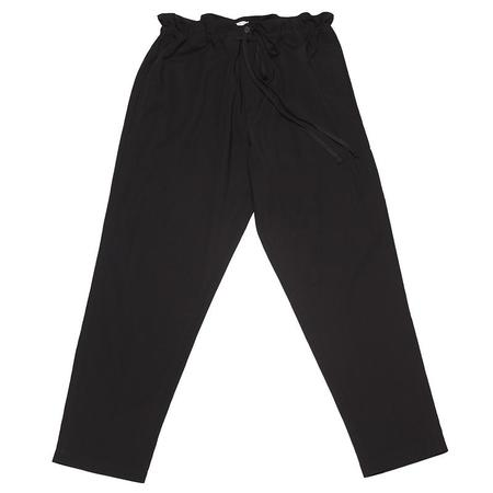 s.k. manor hill Pull Pant - Black Tencel/Cotton/Wool