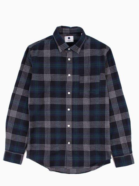 NN07 Dexter Shirt Green Check
