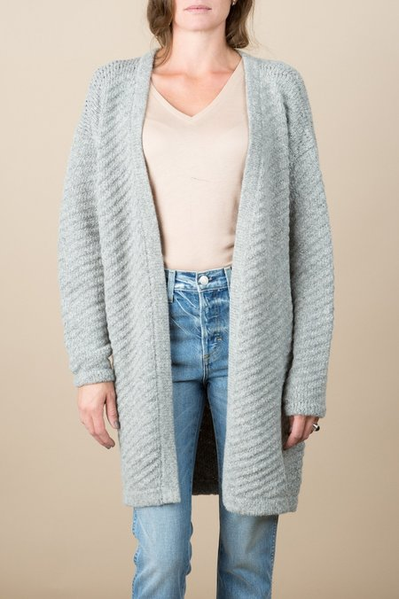 Rachel Comey Visible Cardi In Heather Grey
