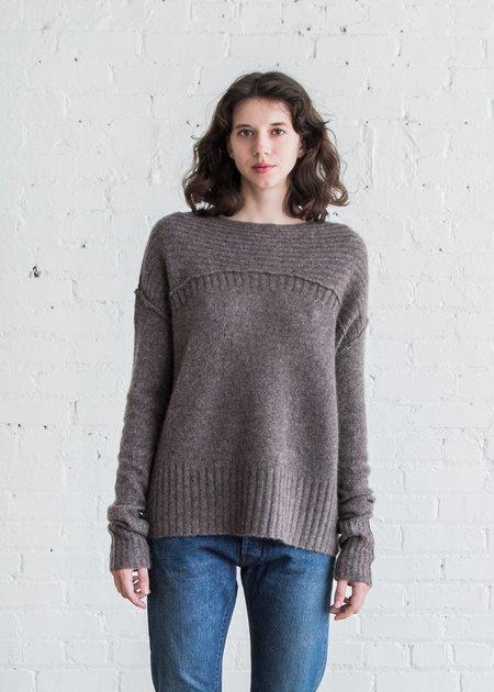 Paychi Guh Side Slit Pullover - Musk