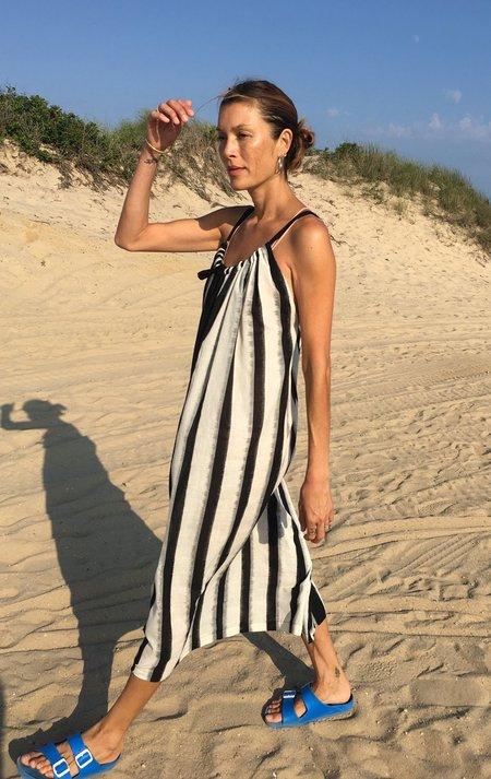Two New York X Dress with ikat stripe