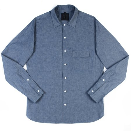 Goldwin Coverall Shirt - Indigo Dungaree Cloth