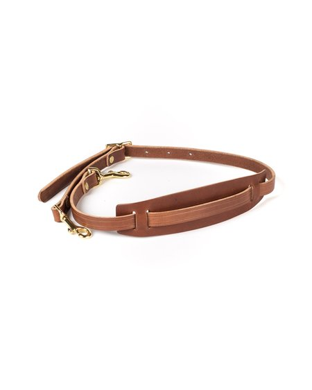 Wood&Faulk Leather Shoulder Strap