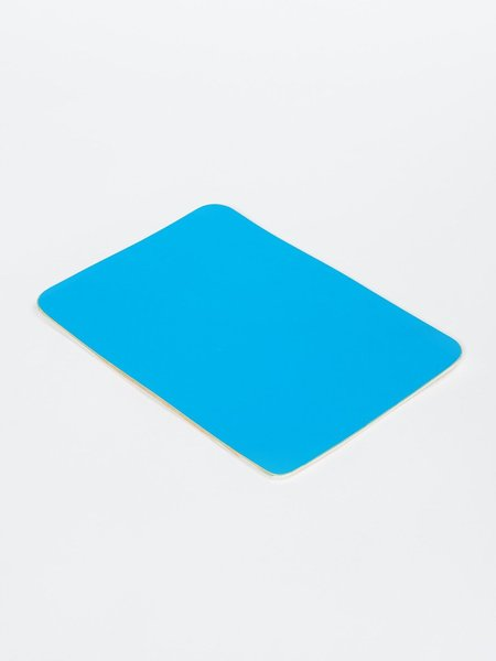 Isaac Reina A5 LEATHER MOUSE PAD - CYAN