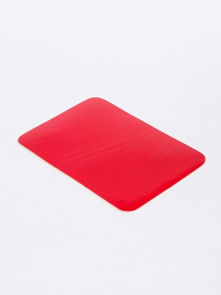 Isaac Reina A5 LEATHER MOUSE PAD - MAGENTA
