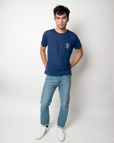 Banner Day Mariner Pocket Tee - Navy