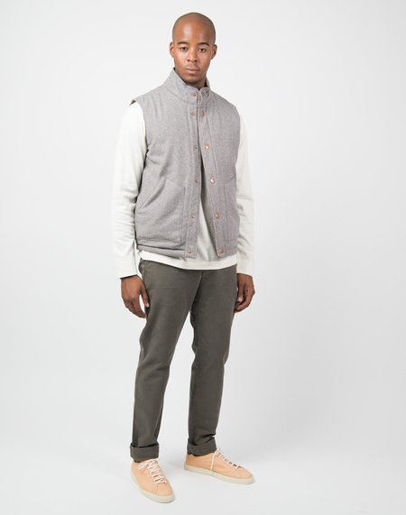 Private White V.C. Wool Wadded Gilet