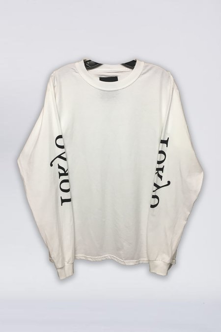 Assembly New York Cotton Long Sleeve Tokyo Logo T-Shirt