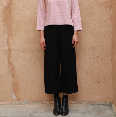Me and Arrow Wide Pant - Black
