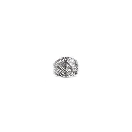Maple x Kelvin Thompson Thunderbird Totem Ring - Silver 925