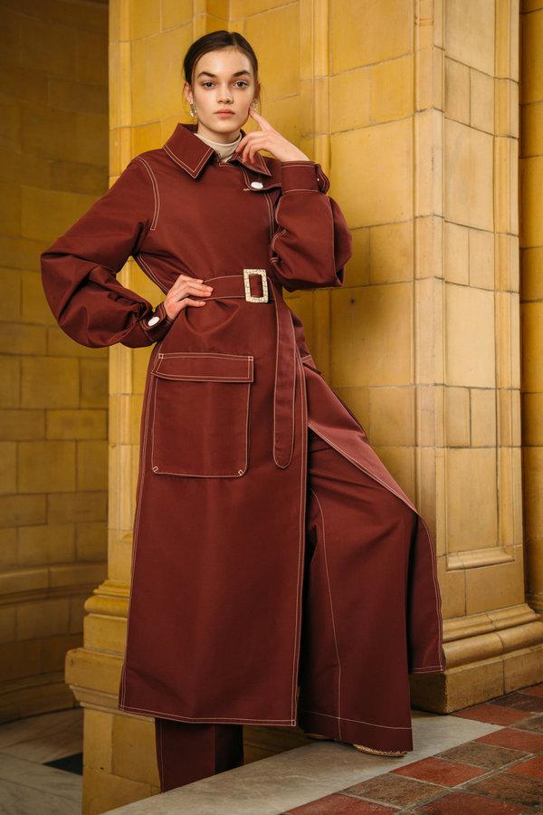 URBANOVITCH Katrine Belted Trenchcoat