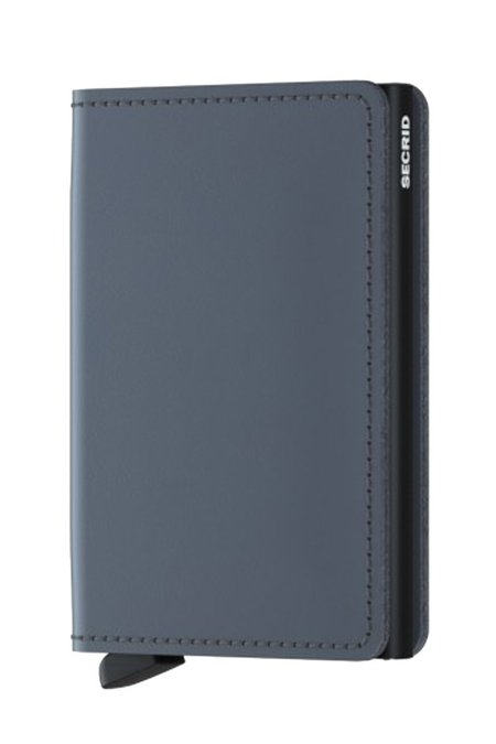 Secrid Slim Wallet - Matte Grey Black