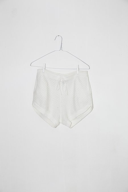 Unisex Giu Giu Brickstitch Short in Bleach