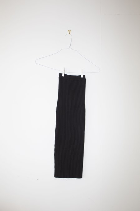Giu Giu Nonna Tube Skirt in Onyx