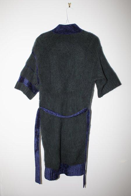 giu giu Siniko Kimono - Forest Mohair