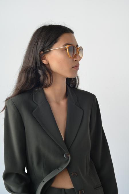 Kate Young for Tura Barbara Sunglasses