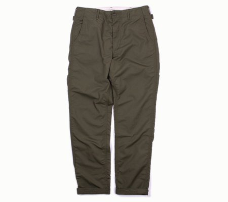 Engineered Garments Ground Pant - Olive Nyco Ripstop