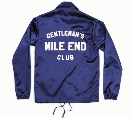 Mercantile Clothing Co. Mile End Gentleman's Club Windbreaker