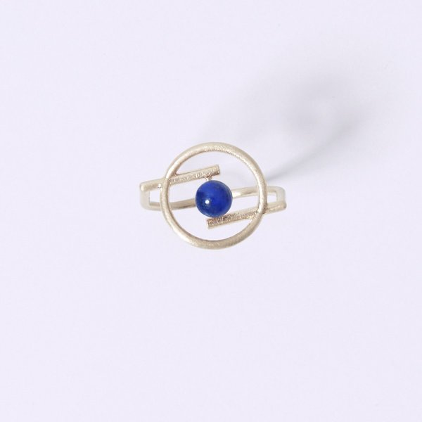 Metalepsis Projects Volten Ring - Lapis
