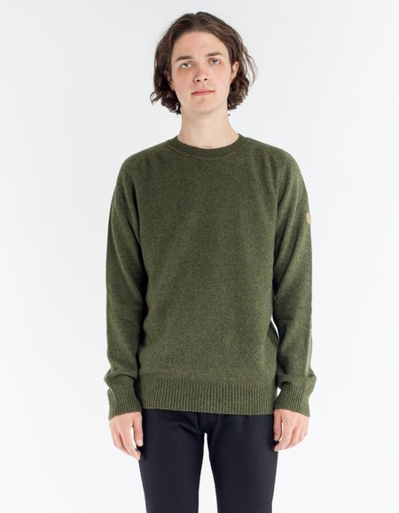 Fjallraven Ovik Re Wool Sweater Dark Olive