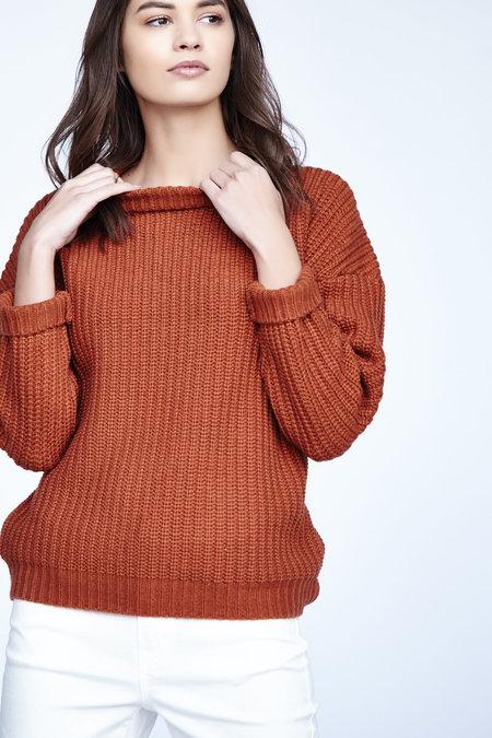 Callahan Shaker Boyfriend Sweater