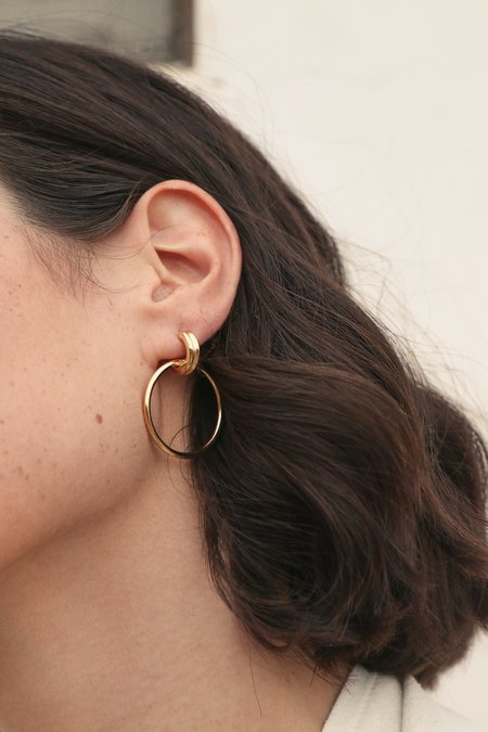 Wolf Circus Cairo Hoops Grande in Gold