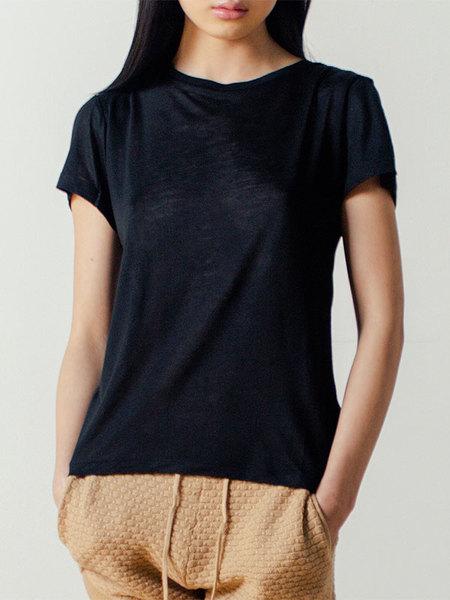 Baserange Tee Shirt in Black