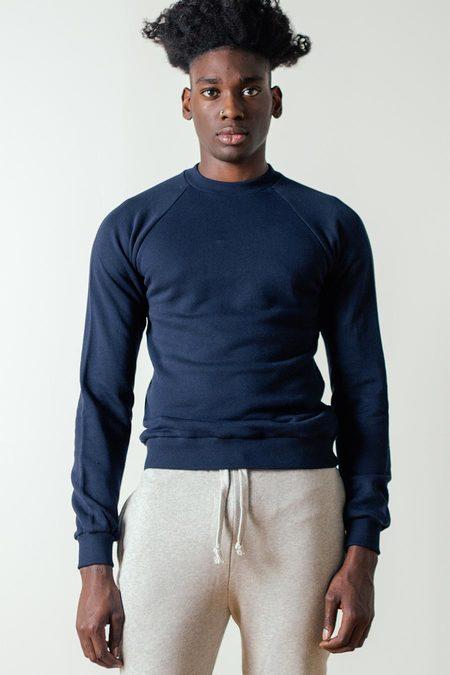 The White Briefs Champion Sweatshirt in Navy