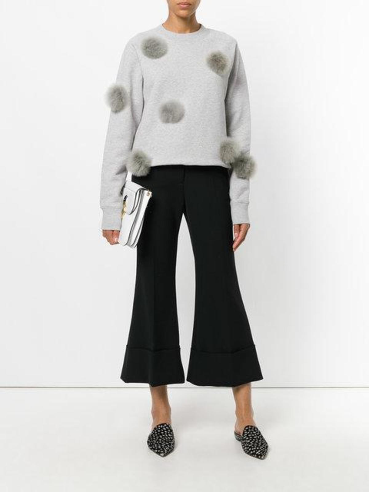 Tibi Pom Pom Sweatshirt Garmentory