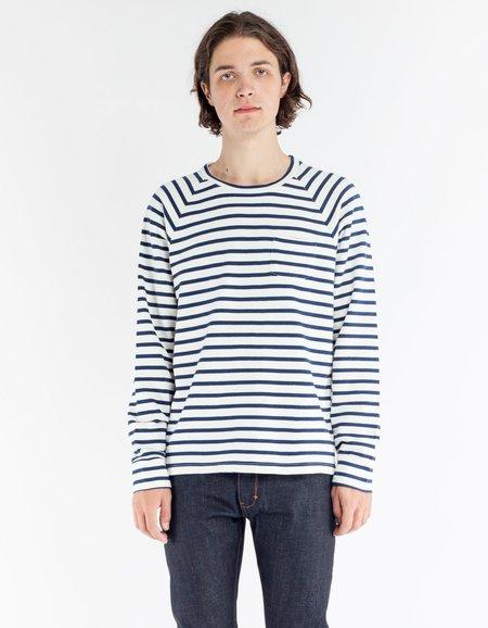 La Paz Lobao LS T-Shirt Blue Stripes