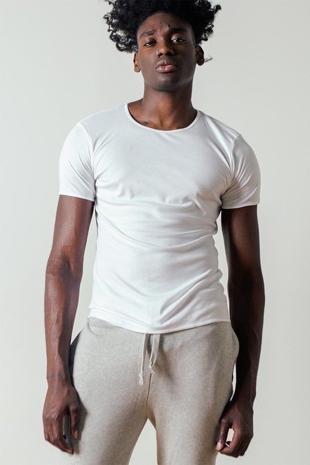 The White Briefs Earth T-Shirt in White