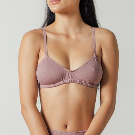 Pansy Bra in Mauve