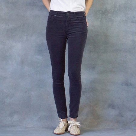Citizens of Humanity Purple Haze Velveteen Rocket High Rise Skinny Pants