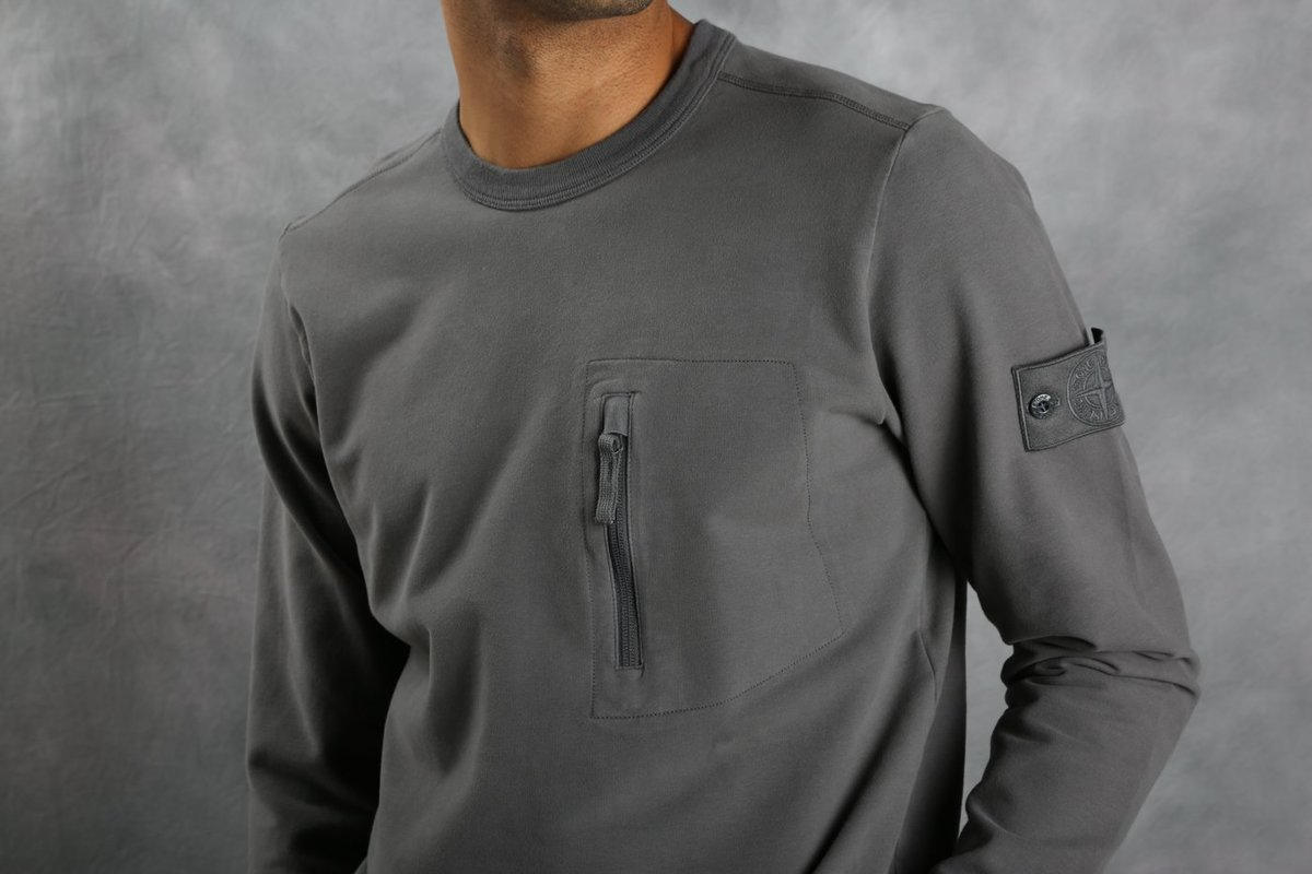 Stone Island 61740 Ghost Piece Sweatshirt Garmentory