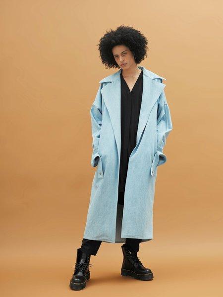 Rask Apollo Coat - Blue