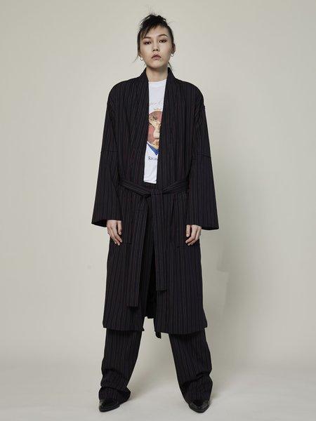 Rask Reversible Stripe Robe