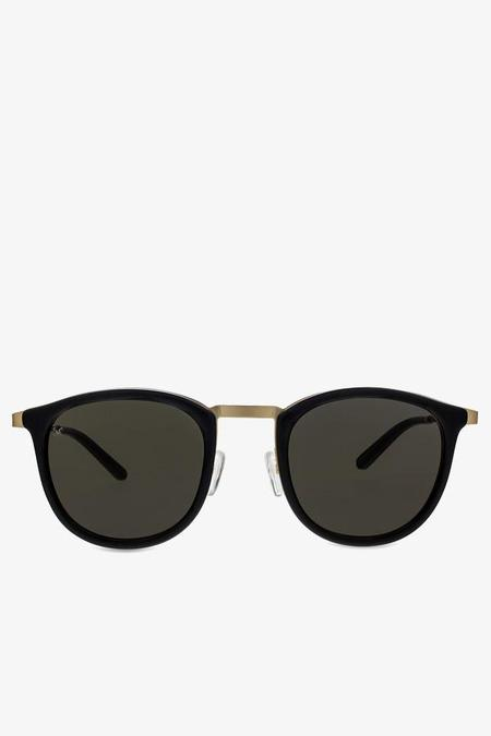 Smoke x Mirrors Shout Sunglasses in Black and Brushed Gold