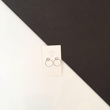 Maksym Boucle Boaa Earrings - Silver